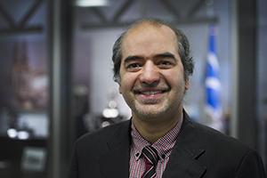 Head shot of Faisal Khan